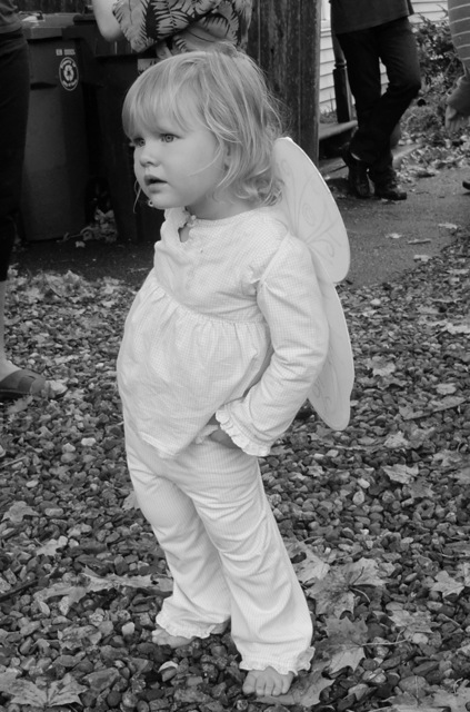 Lilyana with butterfly wings